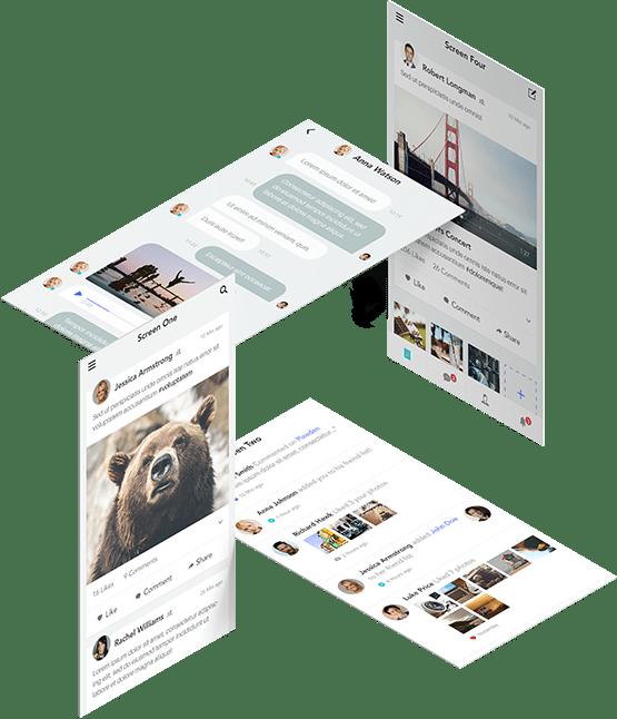 multi screen layout
