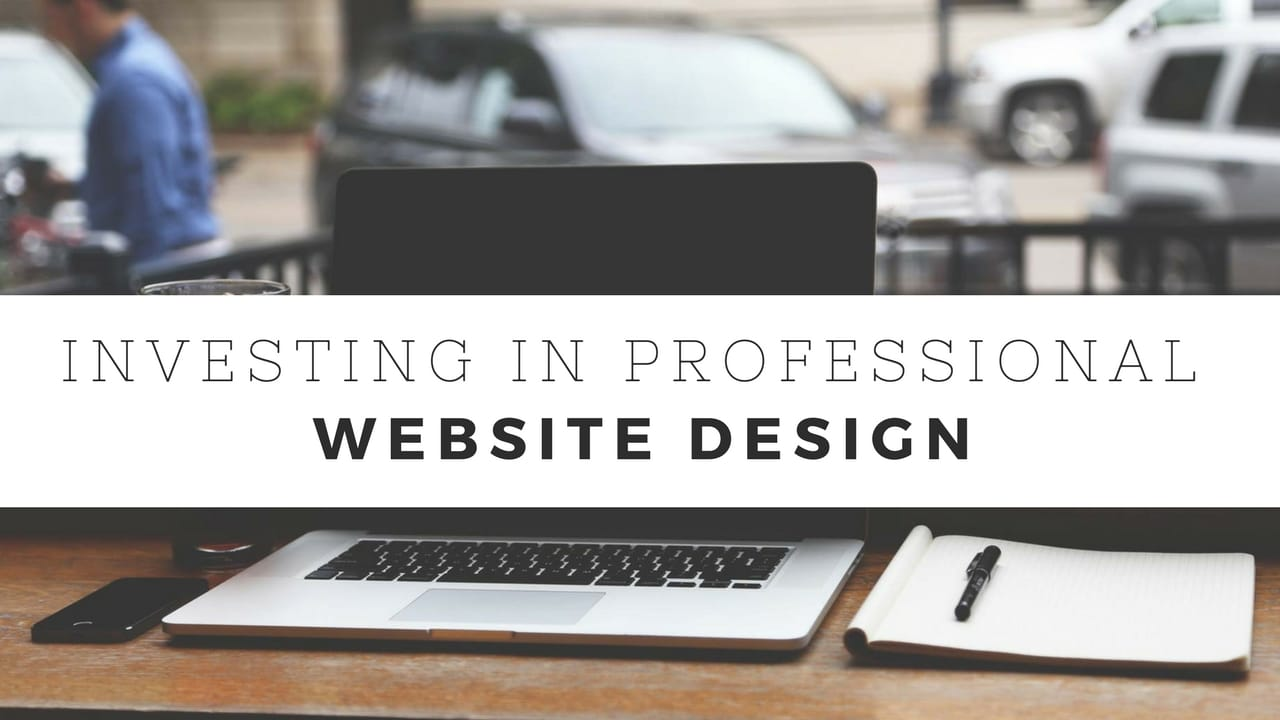 investing in professional website design services cheap