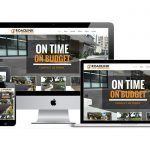 cheap construction website design