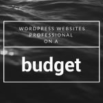 cheap wordpress website design