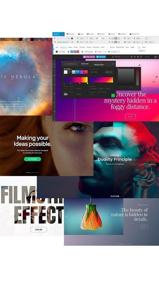 uniquely designed websites